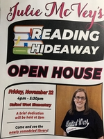 Julie McVey Reading Hideaway Open House