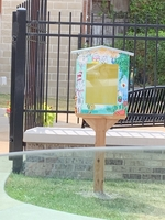 Julie McVey Little Library Dedication