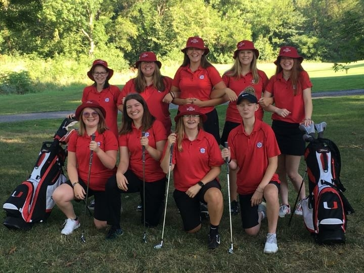 2019 Girls Golf Team!