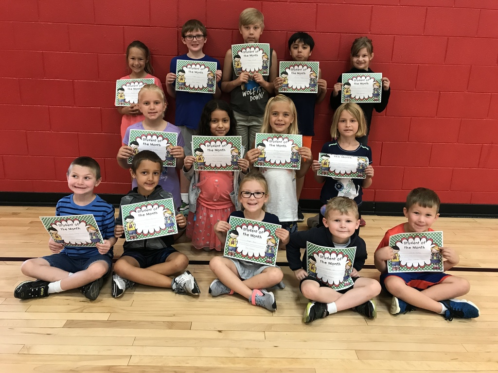 August Students of the Month 2019