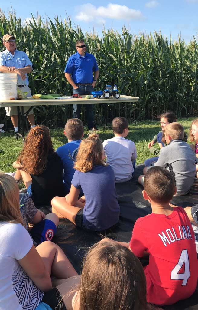 Fourth grade Ag Day