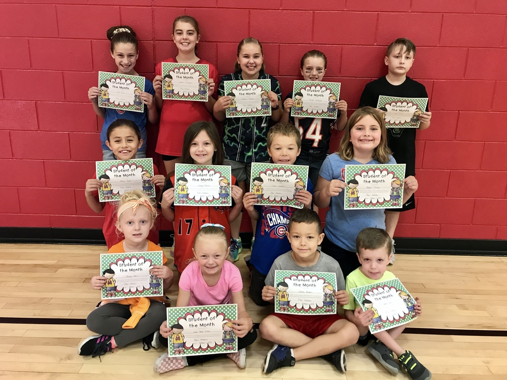 Students of the Month September 2019
